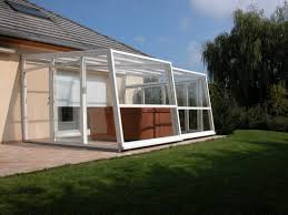 abri terrasse retractable pictures of lean to sloping enclosures attached to wall aqua