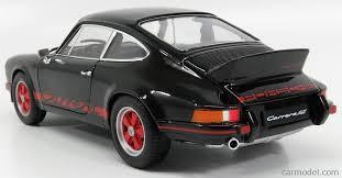 porsche 911 model cars welly we18044bk scale 1 18 porsche 911 rs 2 7 coupe 1973