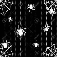halloween background images halloween seamless background with spiders and web royalty free