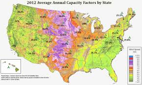 State By State Map Of Usa by Windexchange Potential Wind Capacity Person Studying Large Map Of