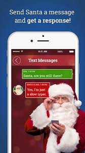 message from santa on the app store