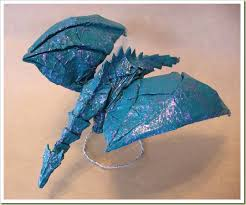 Easy Origami Peacock - how to make 3d origami peacock origami peacock https
