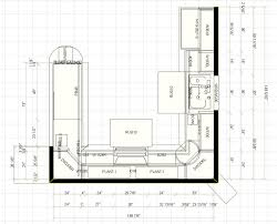 main kitchen floor plan and elevations with kitchen floor plans