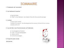 projet cuisine p馘agogique association filafil filons à la filature ppt