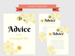 advice for mommy bee magical printable