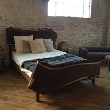 Walnut Bed Frame Live Edge Walnut Bed New Living