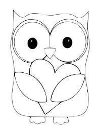 coloring pages of a heart best 25 owl coloring pages ideas only on pinterest owl
