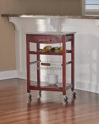 Linon Kitchen Island Amazon Com Linon Kitchen Island Granite Top Bar U0026 Serving Carts