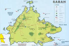 Map Of Malaysia Maps Of Tawau Malaysia
