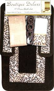 Leopard Bathroom Rugs Giraffe Print Bathroom Accessories Animal Print Curtains