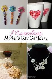 diy marvelous mother u0027s day gifts and crafts ideas