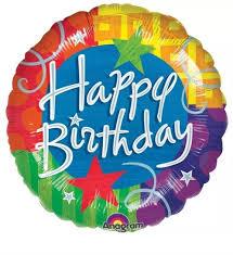 birthday balloon delivery 18 happy birthday balloon balloons at the curb balloons delivery