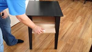 end table with locking drawer mag lock secret compartment coffee table hidden compartment end