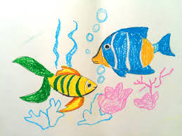 painting animals for kids painting for kids how to draw a fish