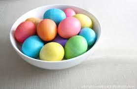 easter egg dye neon easter egg tips white house black shutters
