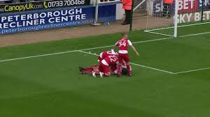 Peterborough Recliner Centre Peterborough United 1 2 Fleetwood Town Highlights Youtube