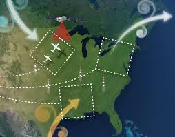 Map Of The Eastern United States by Nasa Flights To Track Greenhouse Gases Across Eastern Us Nasa
