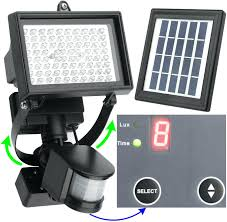 flood lights extension pole solar spot light motion sensor outdoor