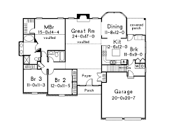 Traditional Floor Plan Mooreland Traditional Home Plan 001d 0013 House Plans And More