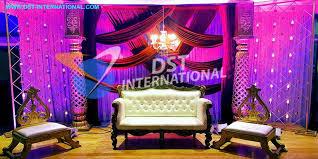 Wedding Reception Stage Decoration Images Sikh Wedding Stage Decoration Dst International