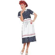 Womens Owl Halloween Costume Amazon Fun Women U0027s Love Lucy Classic Polka Dot Dress