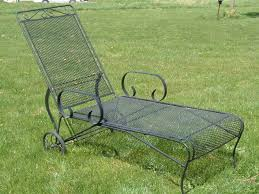 Wrought Iron Lounge Chair Patio Vintage Woodard Lounge Chair Sold Woodard Pinterest Wrought