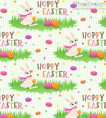 easter wrapping paper hoppy easter pattern with bunny rabbit new wrapping paper
