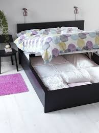 Ottoman Bed Black Wonderful Ikea Ottoman Bed Malm Storage Bed Black Brown Malm