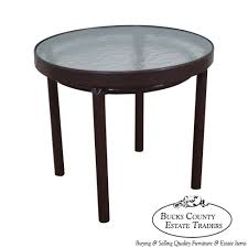 Brown And Jordan Vintage Patio Furniture - 9189 brown jordan tamiami vintage aluminum patio side table