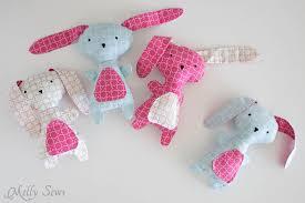 stuffed bunnies for easter diy easter bunny fabrics melly sews