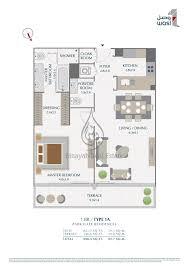 floor plan park gate residences penthouse