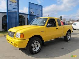 Ford Ranger Truck Colors - 2001 chrome yellow ford ranger edge supercab 4x4 61112679