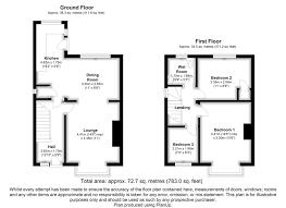 Preston Floor Plan 3 Bed Semi Detached House For Sale In Braefield Crescent