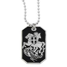 photo engraved dog tags engraved dog tag necklace the masonic exchange