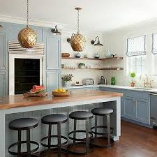 Kitchen Island Lighting Design by Gold And Blue Kitchen Island Pendants Design Ideas