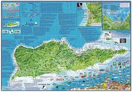 road map of st usvi us islands road maps detailed travel tourist driving