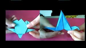 origami gabbiano due origami tartaruga 6 e gabbiano vola 7