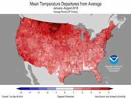 North East United States Map 5th Hottest U S Summer Saw Record Northeast Heat Climate Central