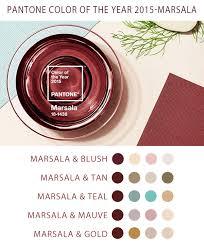 Pantones Color Of The Year Pantone Color Of The Year 2015 U2013 Marsala Wedding Color Schemes