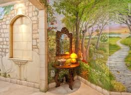 Garden Mural Ideas Outdoor Wall Murals Outside Wall Supertechcrowntower Org