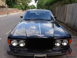 black bentley interior eight lhd 1990 black with black leather interior 35000 miles