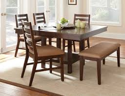 Steve Silver Dining Room Furniture Eden Square Rectangular Counter Height Dining Table With Lazy