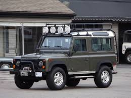 land rover 1997 1997 land rover defender 90 le copley motorcars
