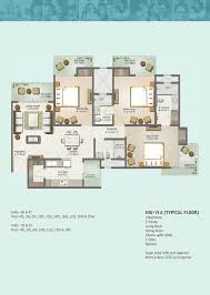 mahagun moderne floor plans mahagun projects noida