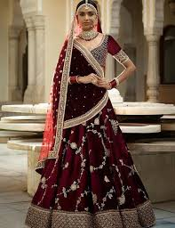 velvet blouse 20 lehenga blouse designs 2018