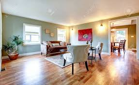 Big Living Room Light Tones Big Living Room Furnished With Antique Style Sofa