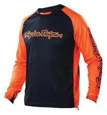 camo motocross jersey troy lee designs sprint jersey rock n u0027 road cyclery orange