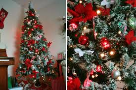 suggestions online images of red and silver decorated christmas tree