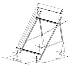 a frame roof kingspan thermomax flat roof a frame kit c0599