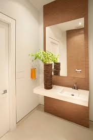 Powder Room Towels - newark linen look tile bathroom beach style with neutral colors